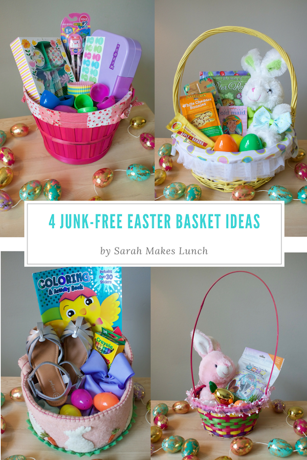 4 junk free easter basket ideas sarah makes lunch easter is coming up in a couple of weeks so i am excited to share my junk free easter basket ideas we me patrick and saff celebrate easter negle Gallery